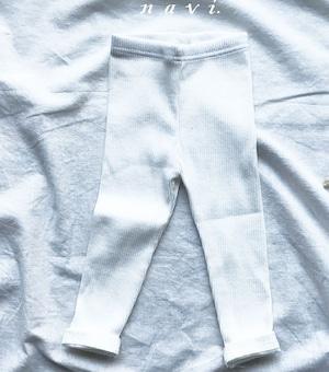SALE《韓国子供服》即日発送★リブパンツ pants