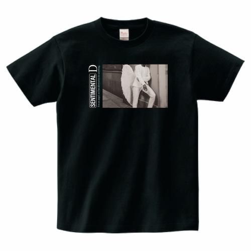 天使と悪魔Tシャツ(ブラック)