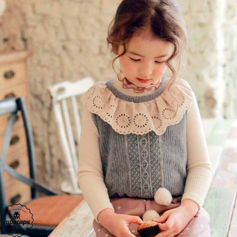 «sold out» flo marine knit vest 2colors ニットベスト