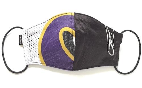 【デザイナーズマスク 吸水速乾COOLMAX使用 日本製】NFL SPORTS MIX MASK CTMR 1006032