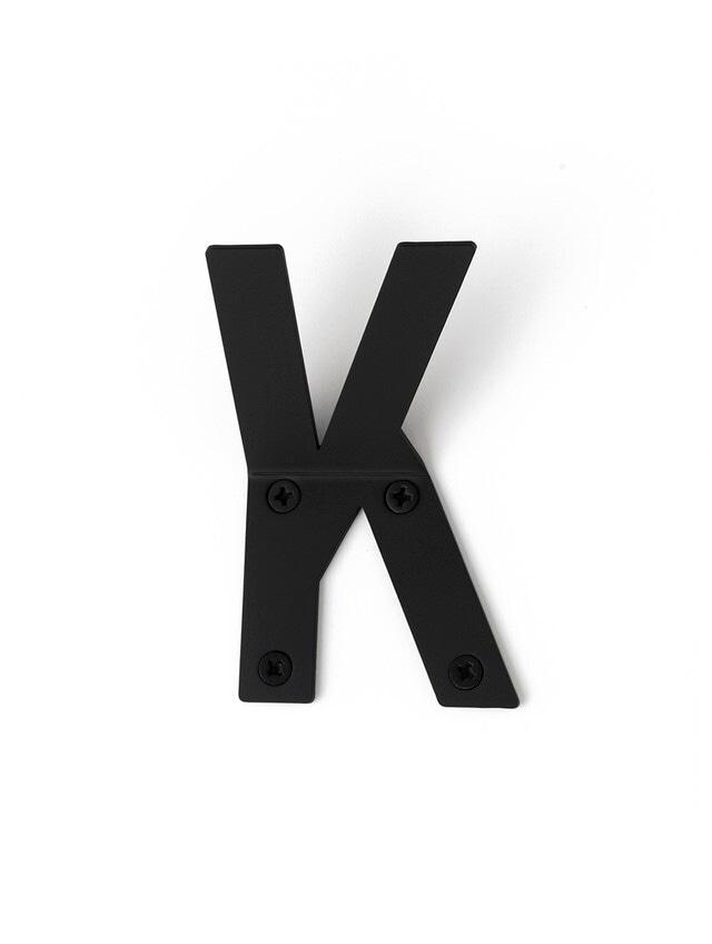 LETTER HOOK  Kフック 壁掛け サイン 英文字 アルファベット