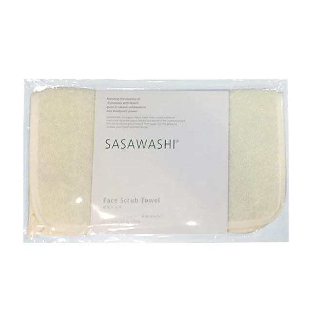 洗顔タオル 10枚セット[ささ和紙]