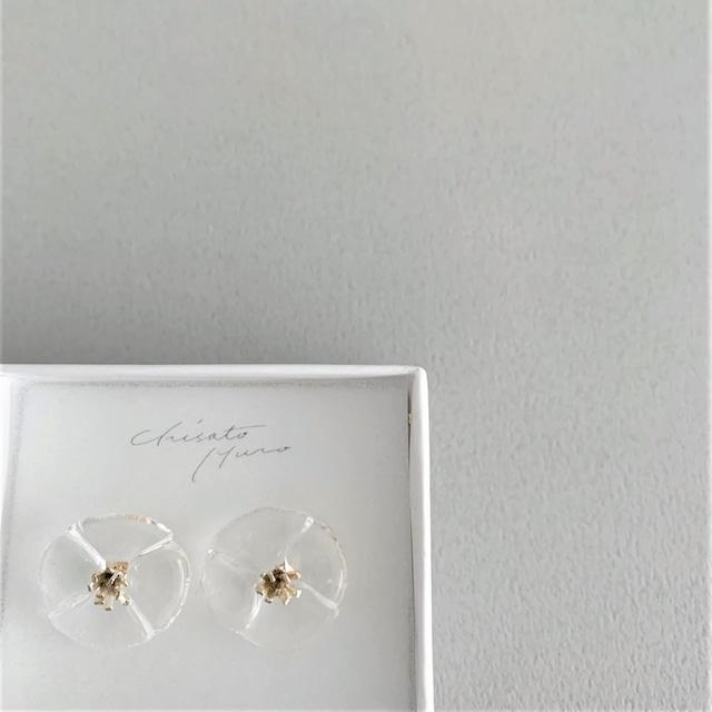 Chisato Muro Glass Flower - Stamen  ピアス