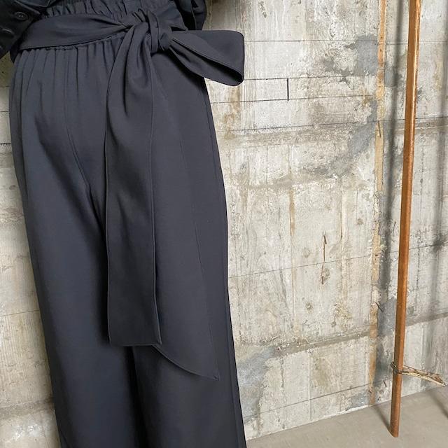 HYKE【ハイク】 Carefree EASY  PANTS (13217 / BLACK ).