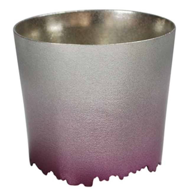 SHIKICOLORS YAEZAKURA ROCK CUP(錫の酒器)