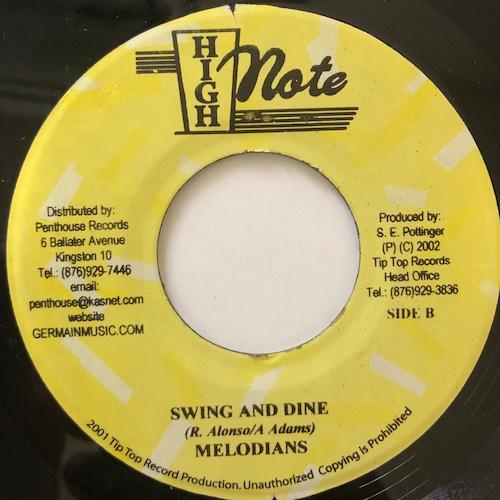 Melodians - Swing & Dine【7-20659】