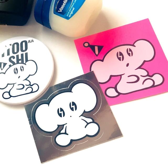 シルバーステッカー(Silver Sticker)