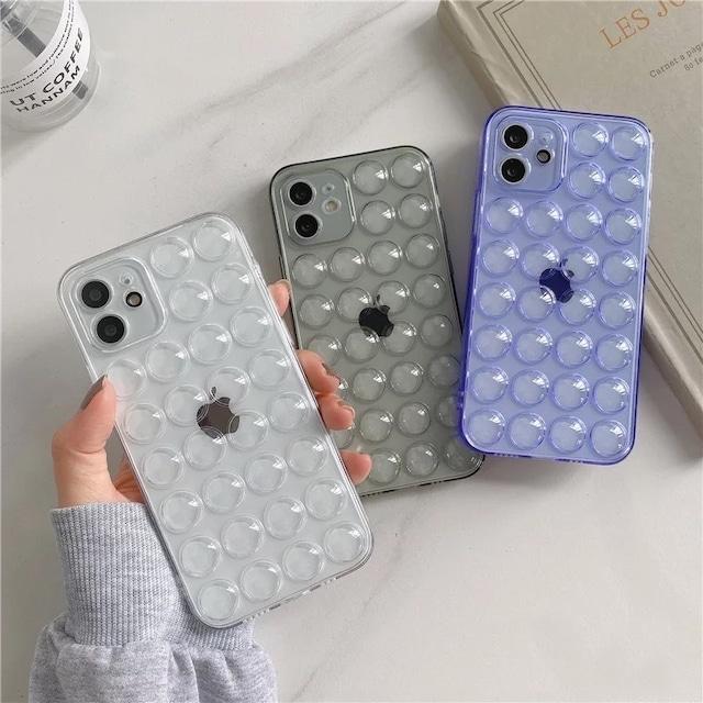Cute bubble iphone case