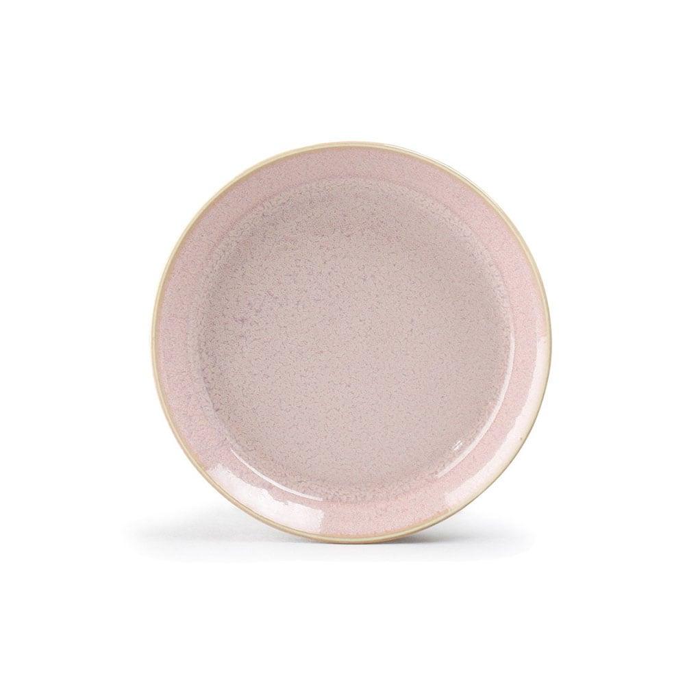 aito製作所 「ナチュラルカラー Natural Color」スタンダード プレート 皿 14cm ピンク 美濃焼 517068