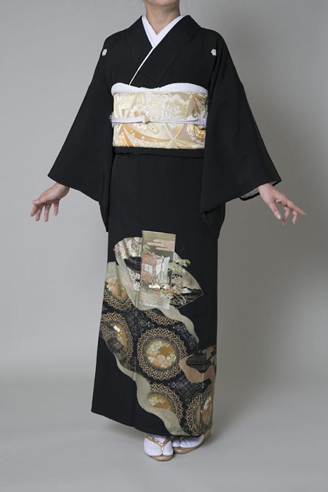 【レンタル】黒留袖 TAL-3(Lサイズ)