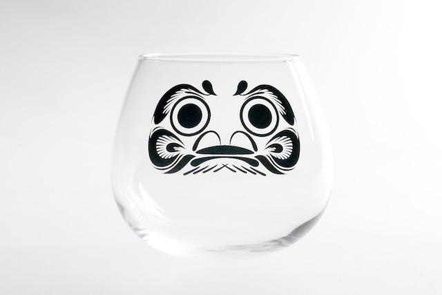 『ゆらゆらダルマグラス(小)』 *達磨 ゆらゆら お正月にピッタリ 動画映え プレゼント 縁起のいいグラス