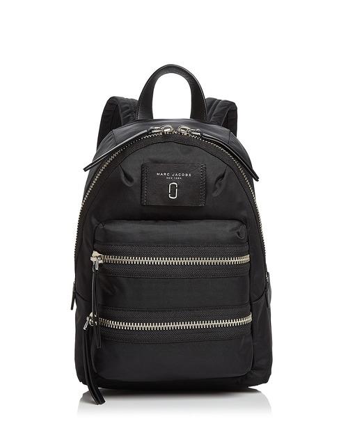 MARC JACOBS Biker Mini Nylon Backpack
