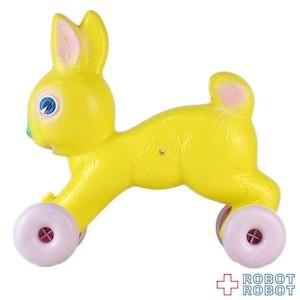 黄色ウサギ ポリ プルトイ