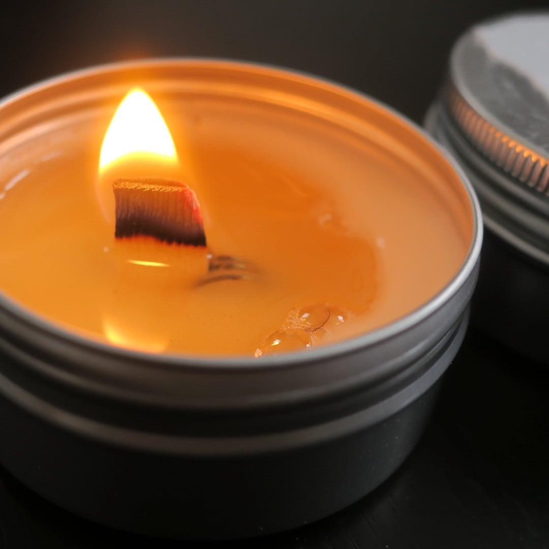 mori森の香り(S)soywax100%の木芯キャンドル【ソイワックスキャンドル ソイキャンドル アロマキャンドル】