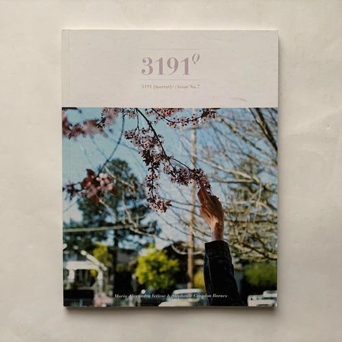 3191quarterly NO.7   /  Maria Alexandra Vettese  /  Stephanie Congdon Barnes