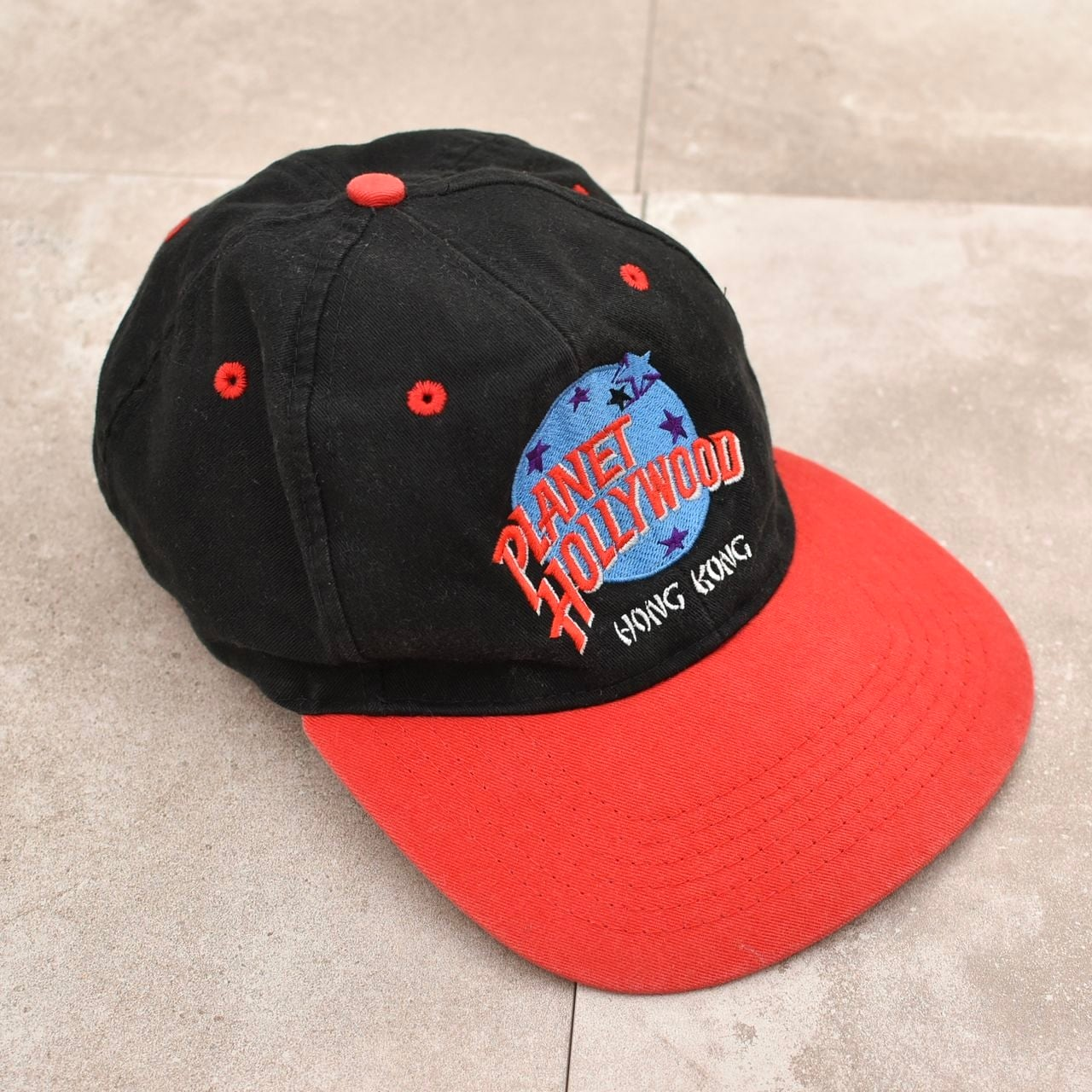 PLANET HOLLYWOOD embroidery 6panel cap
