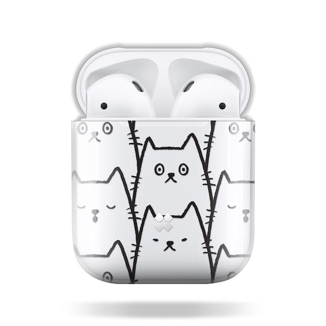CaseStudi ケーススタディ PRISMART AirPods Case 2019 エアーポッズ ハード ケース 男女兼用 猫 ネコ ねこ cat 国内正規品