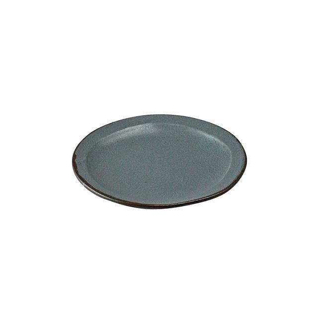 aito製作所 「翠 Sui」取り皿 中皿 15cm 空色ねず 美濃焼 288044