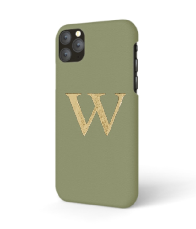 iPhone Premium Smooth Leather Case (Green Tea)