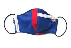 【デザイナーズマスク 吸水速乾COOLMAX使用 日本製】NBA SPORTS MIX MASK CTMR 0917125