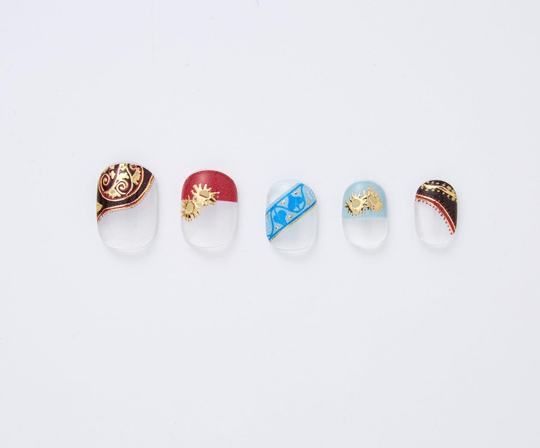 杉浦非水の装丁を楽しむ  箔がきらめくジェル風ネイルシール〈エレクトラ〉