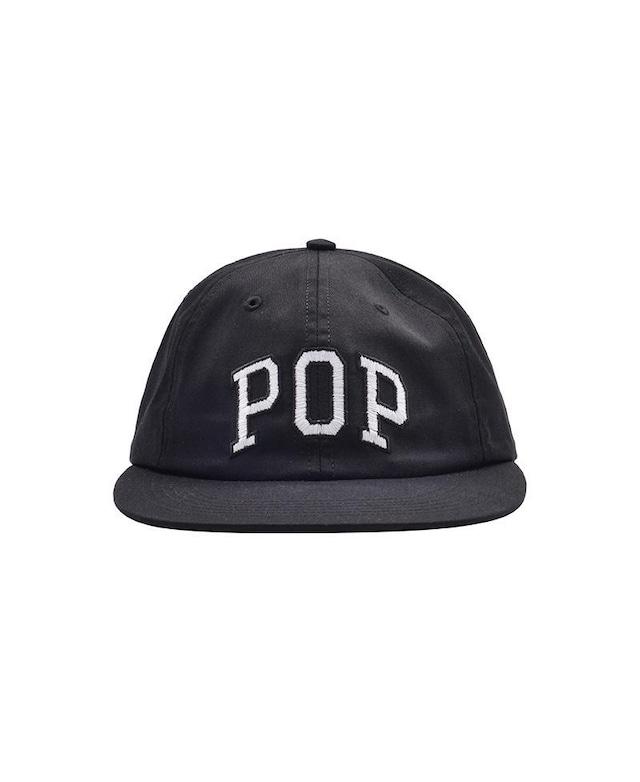 POP TRADING COMPANY POP ARCH 6 PANEL HAT BLACK
