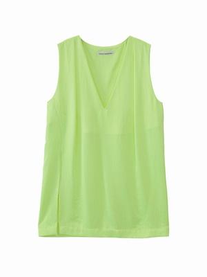 Slip top  / yellow green / S15TP02