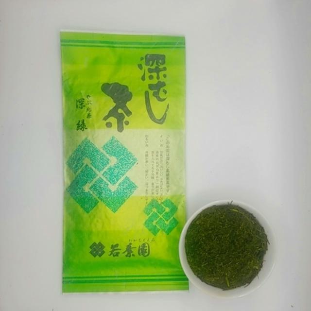 深蒸し煎茶 深緑 100g