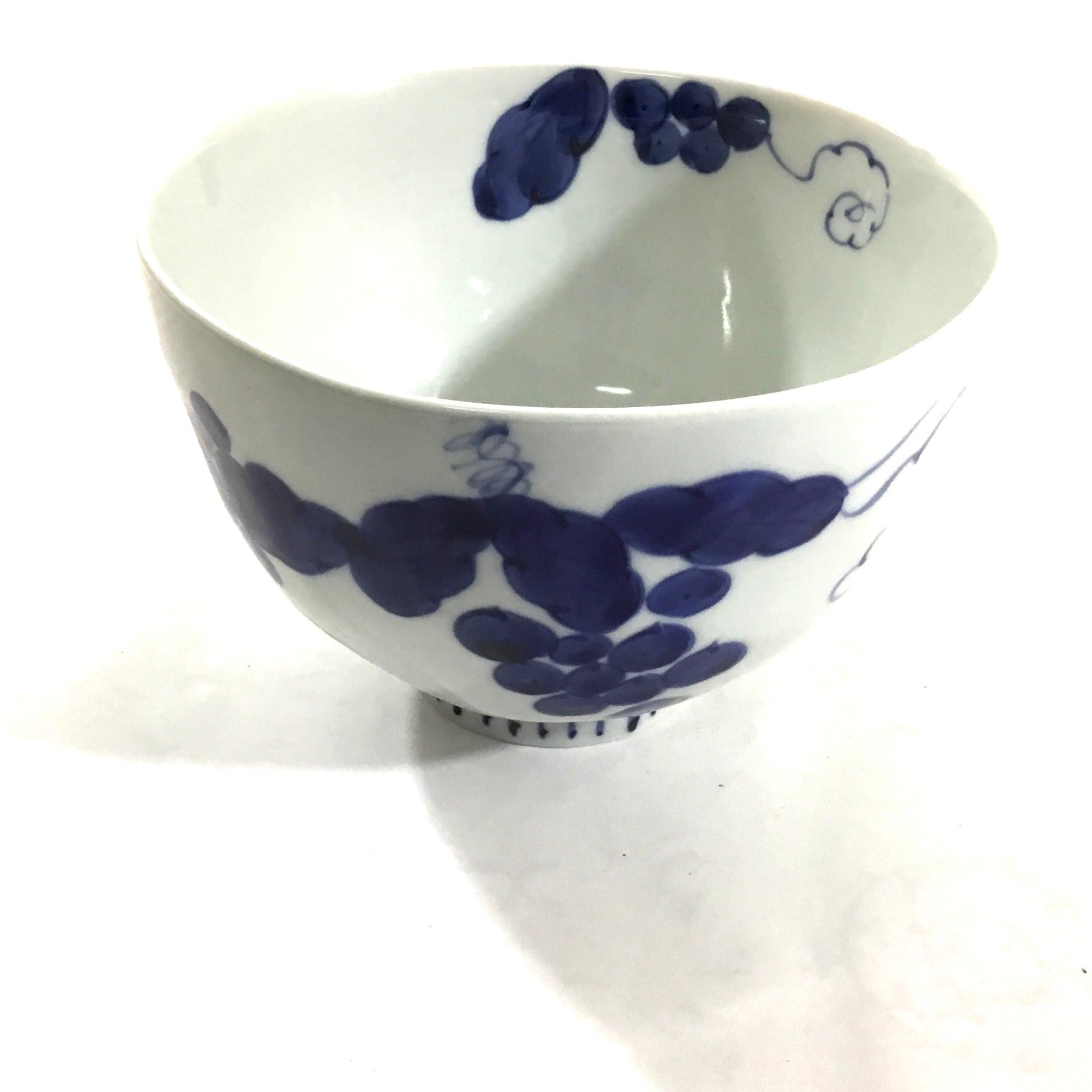 葡萄絵麺鉢