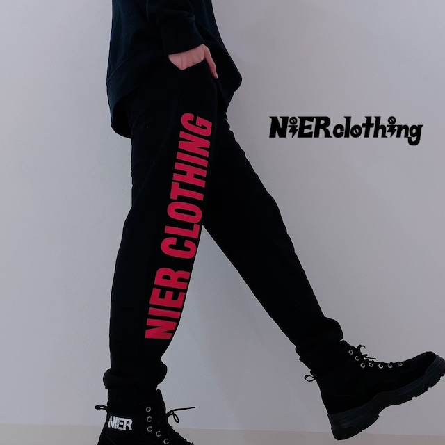NieR SWEAT PANTS【RED LOGO】