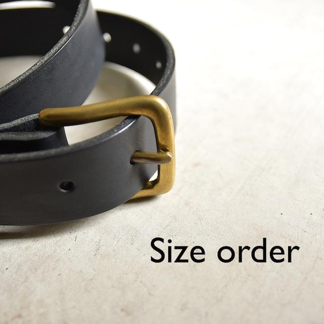 Size order《belt》