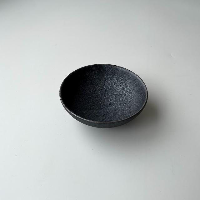 【有田焼】晶渕銀 空浅小鉢