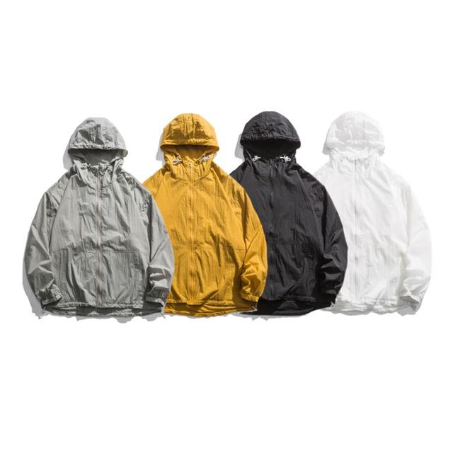 【UNISEX】アウトドア ライト マウンテンパーカー【4colors】UN-598