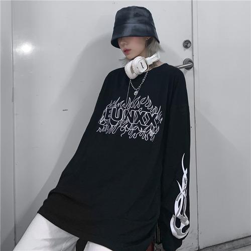 ファイヤーロゴロングTシャツ RD9242