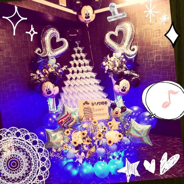 シャンパンタワー装飾セット