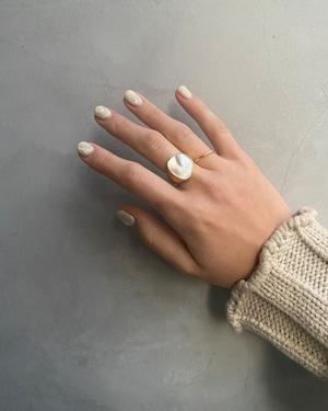 stone ring 2colour