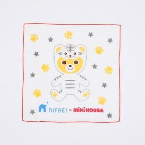 MIKI HOUSE × NIFREL ガーゼハンカチ(赤)