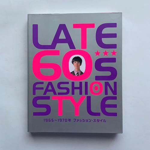 LATE 60's FASHION STYLE : 1965~1970年ファッション・スタイル