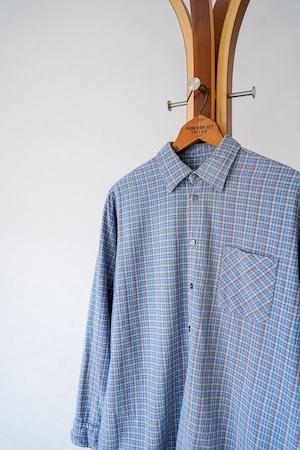 "【1950-60s】""Germany  Made"" Euro Vintage Grandpa Shirts / v691"