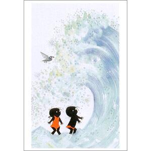 ポストカード 大きい波(FO_PO_10073)