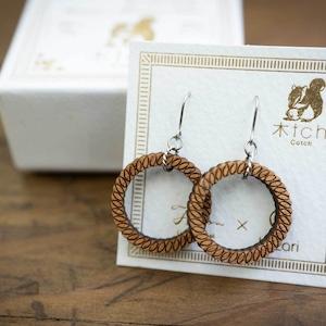 wheel lead / 繋がる輪(Pierced Hang)