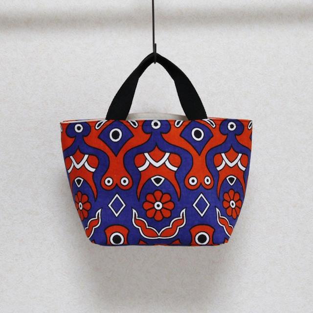 カンガのランチトート|アフリカ布 / ランチバッグ