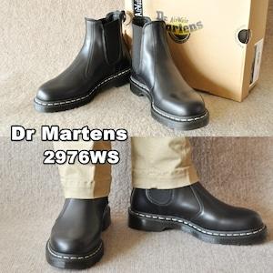 ドクターマーチン  Dr.Martens  Core  2976 WS(ホワイトステッチ)  チェルシーブーツ (Black) サイドゴアブーツ 26257001