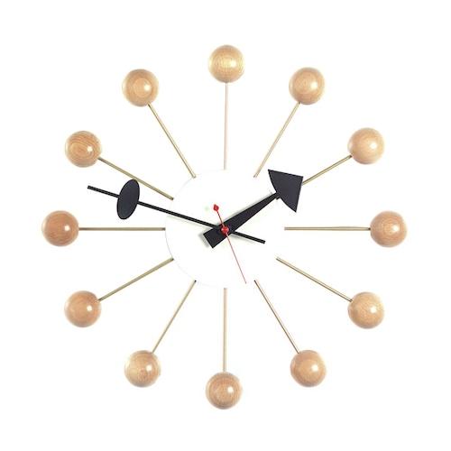 Vitra(ヴィトラ) Ball Clock(ボールクロック) ナチュラル