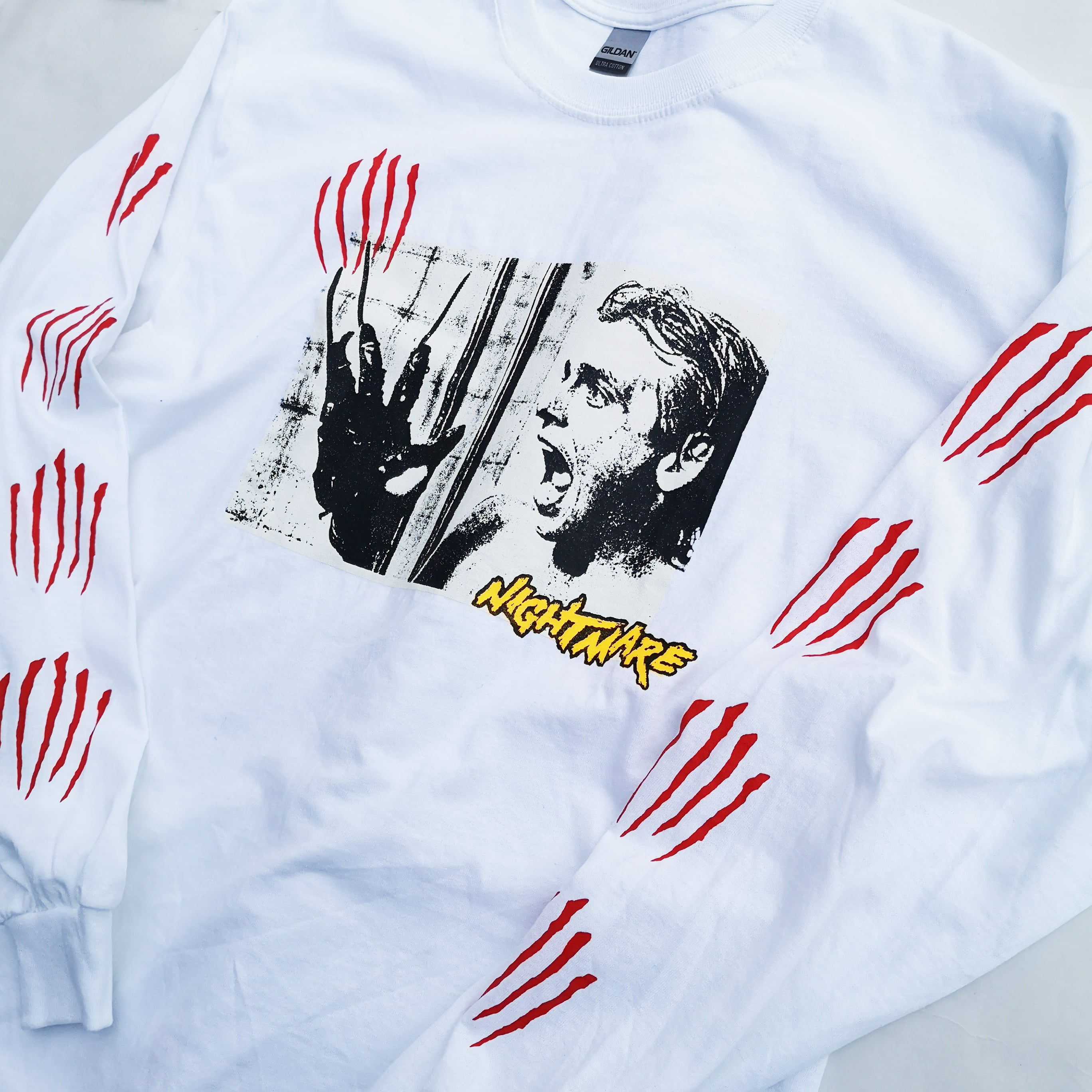 """      """"This is a NIGHTMARE"""" LONG TEE"""