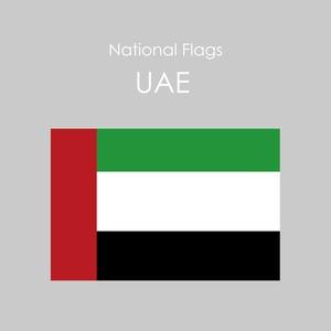 国旗ステッカー UAE