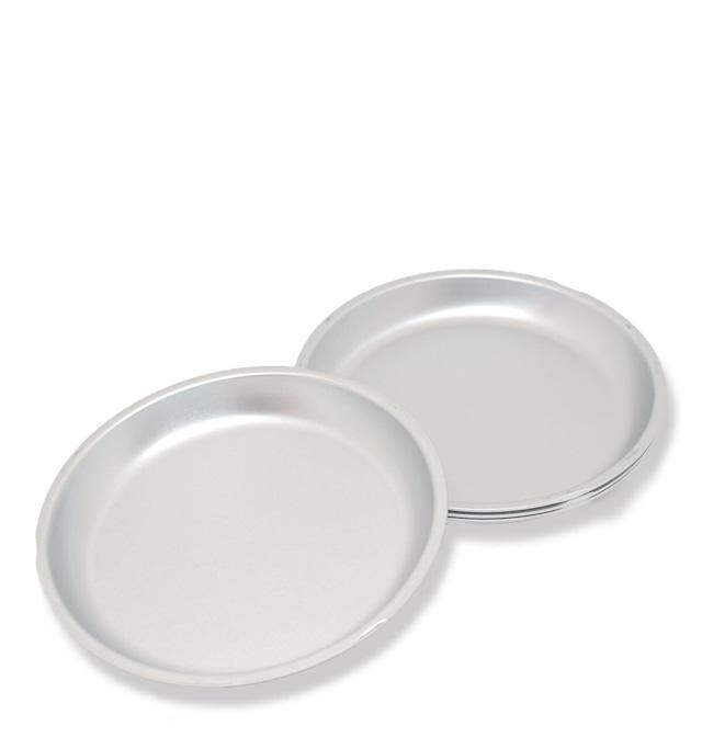 松野屋 アルマイト小皿 14cm