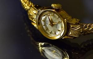 【ビンテージ時計】1960年1月製造 シチズン グレイス(Grace)当時の国産最小サイズのムーブメントを使用しています