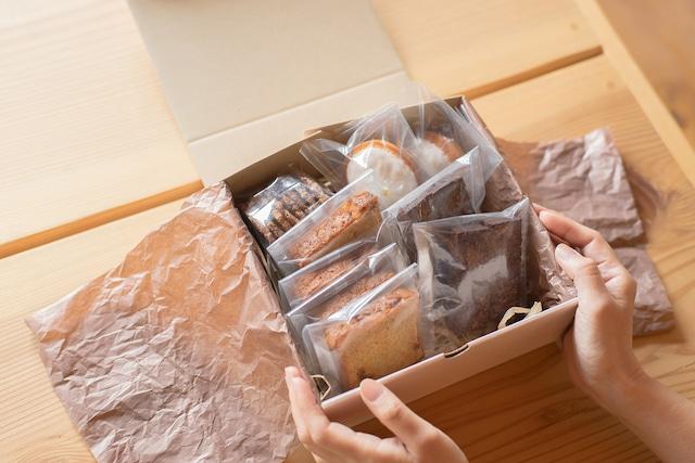 【秋のギフト】おやつの花・定番焼菓子4種詰め合わせ