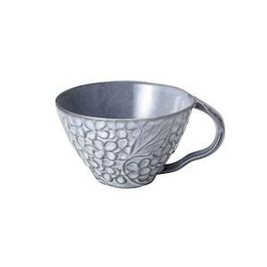 aito製作所 「リアン Lien」スープカップ 約12cm 330ml グレー 美濃焼 267827